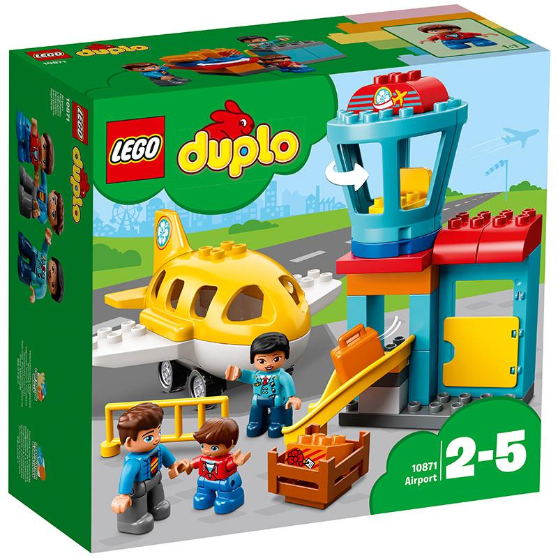 乐高 玩具 得宝 DUPLO 2岁-5岁 我的飞行初体验 10871 积木LEGO