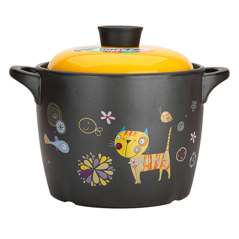美厨(maxcook)陶瓷煲砂锅 7L汤锅高炖锅养生煲 萌小七系列MCT504
