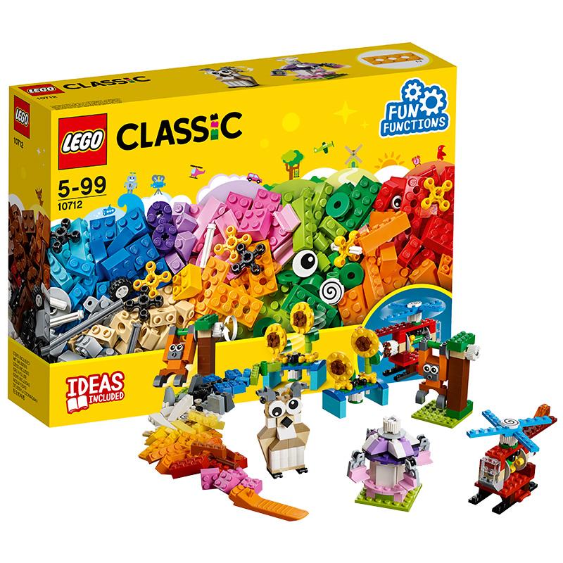 樂高 玩具 經典創意  Classic 5歲-99歲 齒輪創意拼砌盒 10712 積木LEGO