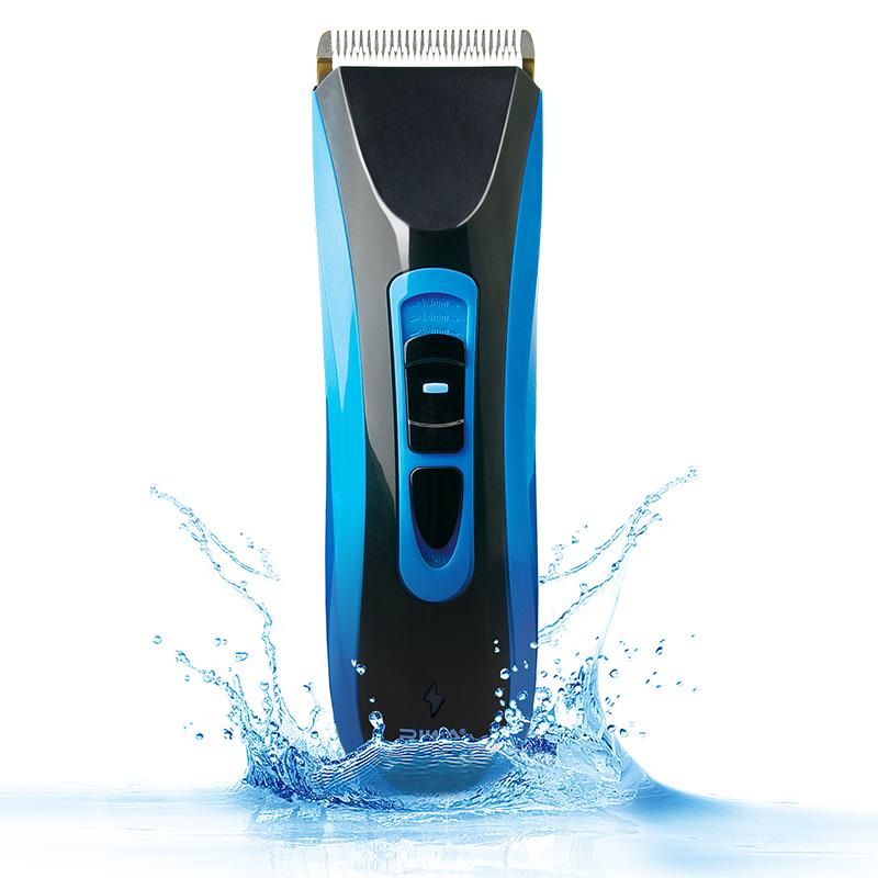 雷瓦(RIWA) 理发器电推剪 全身水洗锂电 专业电动剃头电推子 配理发剪刀RE-750A