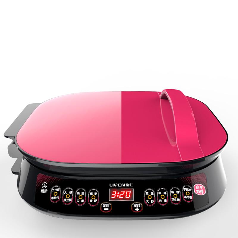 利仁(Liven)电饼铛家用双面加热可拆洗煎烤机LR-FD6341(小博士)
