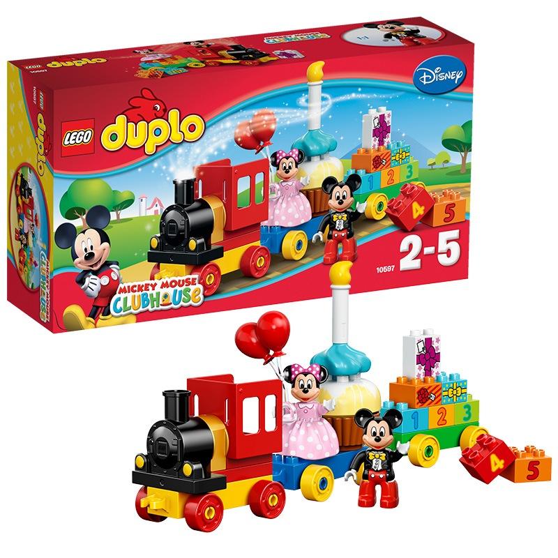 樂高 玩具 得寶 DUPLO 2歲-5歲 米奇和米妮的生日派對 10597 積木LEGO