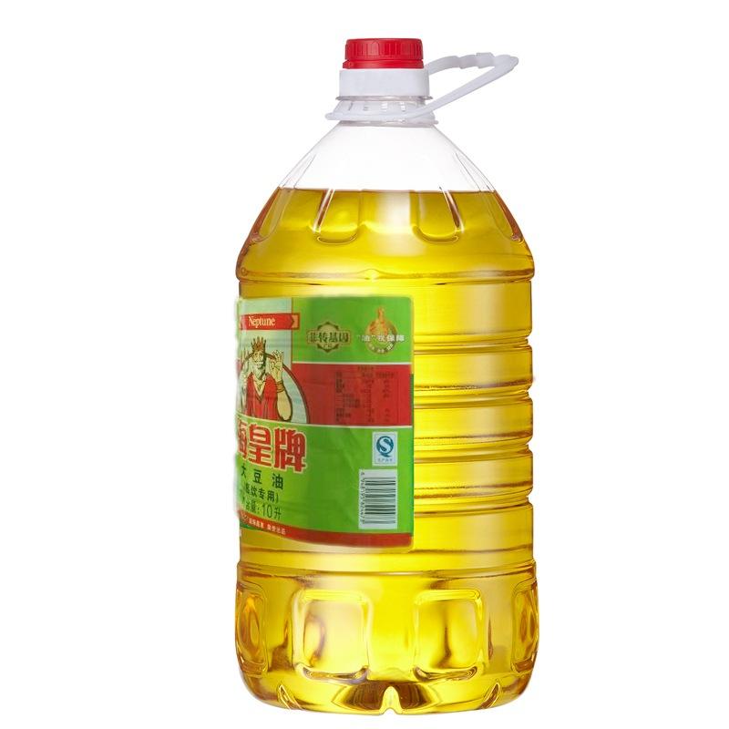 海皇牌 非转基因大豆油10L
