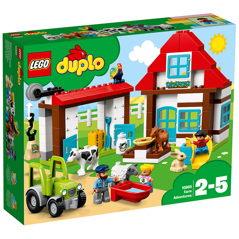 樂高 玩具 得寶 DUPLO 2歲-5歲 樂趣開心農場 10869 積木LEGO