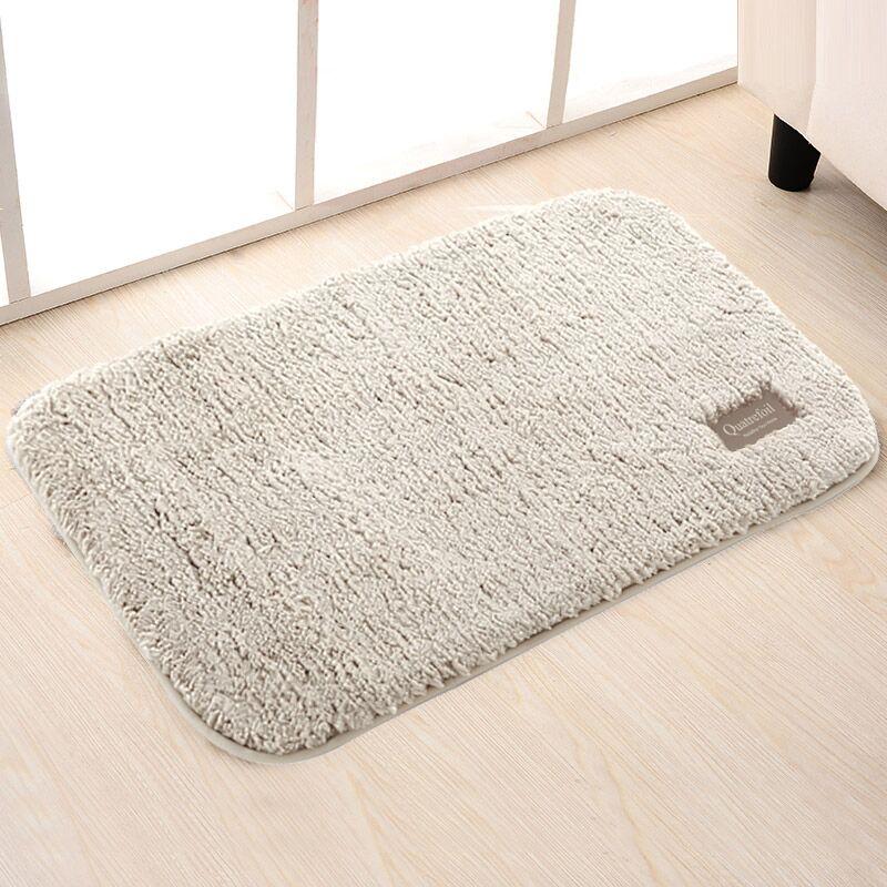 QUATREFOIL地墊玄關門墊廚房浴室吸水防滑墊 40*60cm米色