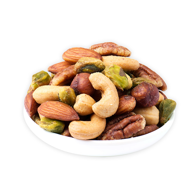美国进口 绅士牌(Planters)精选大罐混合坚果(腰果、巴旦木、碧根果、开心果、榛子)963g