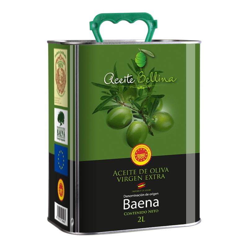 蓓琳娜(BELLINA)PDO特级初榨橄榄油 2L 西班牙原装进口