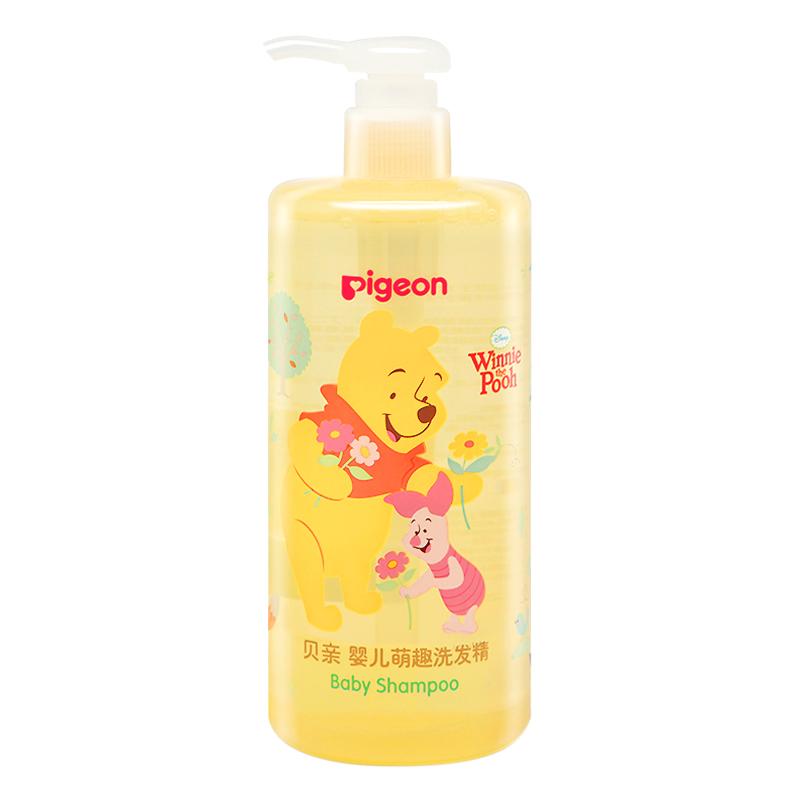 貝親(Pigeon)萌趣嬰兒兒童洗發精洗發水480ml IA204(小熊維尼)