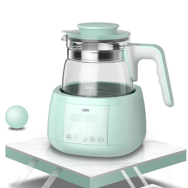 易簡(yijian)恒溫調奶器 恒溫水壺 沖奶機寶寶溫奶器暖奶器熱奶器恒溫水壺DQ12(新老包裝隨機發貨)