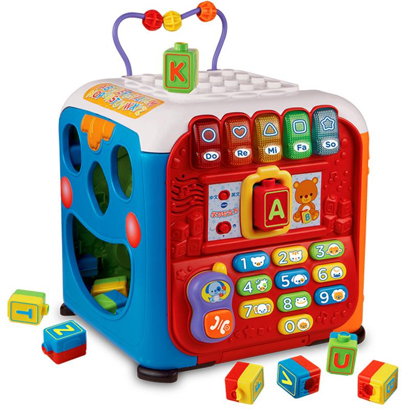 伟易达Vtech 学习智立方游戏桌宝宝学习桌婴幼儿早教益智玩具台