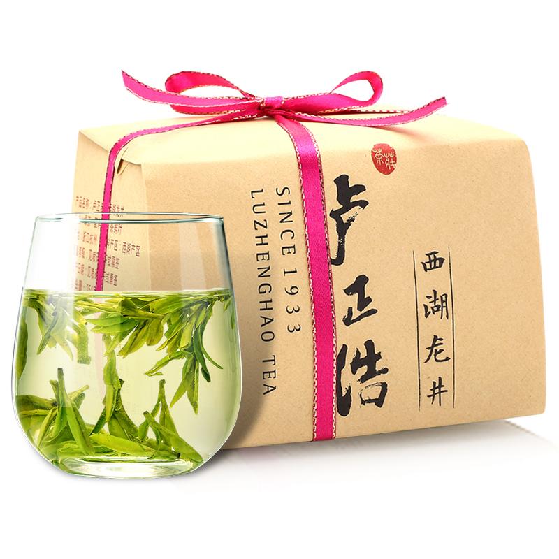 卢正浩 茶叶绿茶 明前特级西湖龙井茶(奉诚 301216)200g