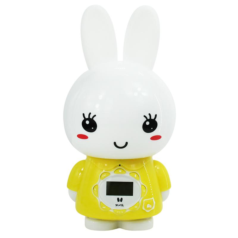 火火兔儿童早教故事机液晶显示启蒙声控故事机婴儿益智玩具AI语音助手G7WIFI黄色