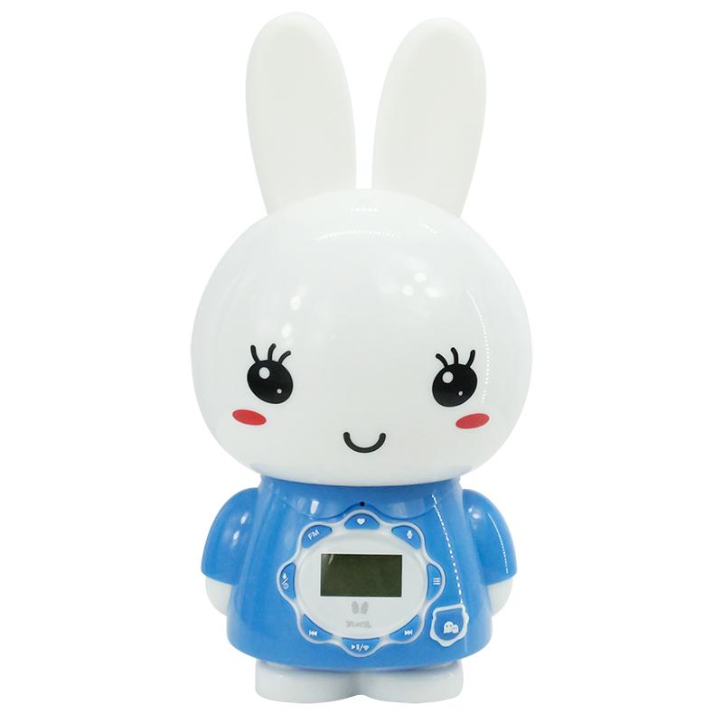 火火兔儿童早教故事机液晶显示启蒙声控故事机婴儿益智玩具AI语音助手G7WIFI蓝色
