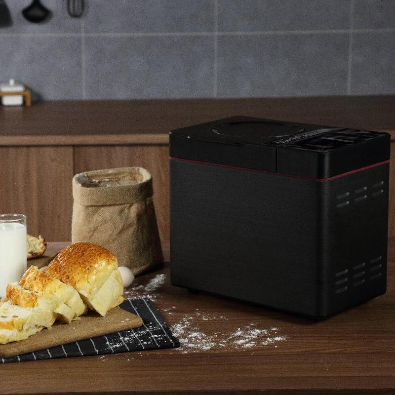 美的(Midea)面包機 全自動家用智能雙撒料 多功能和面機 TLS2010