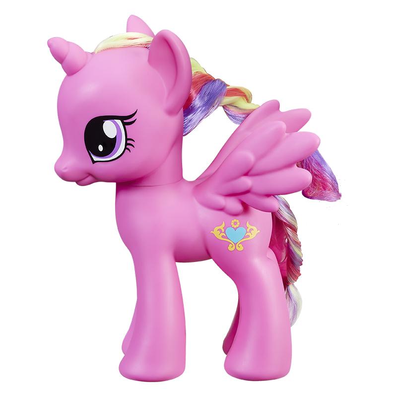 孩之宝(Hasbro) 小马宝莉 女孩玩具 8寸基础小马 音韵公主C2170