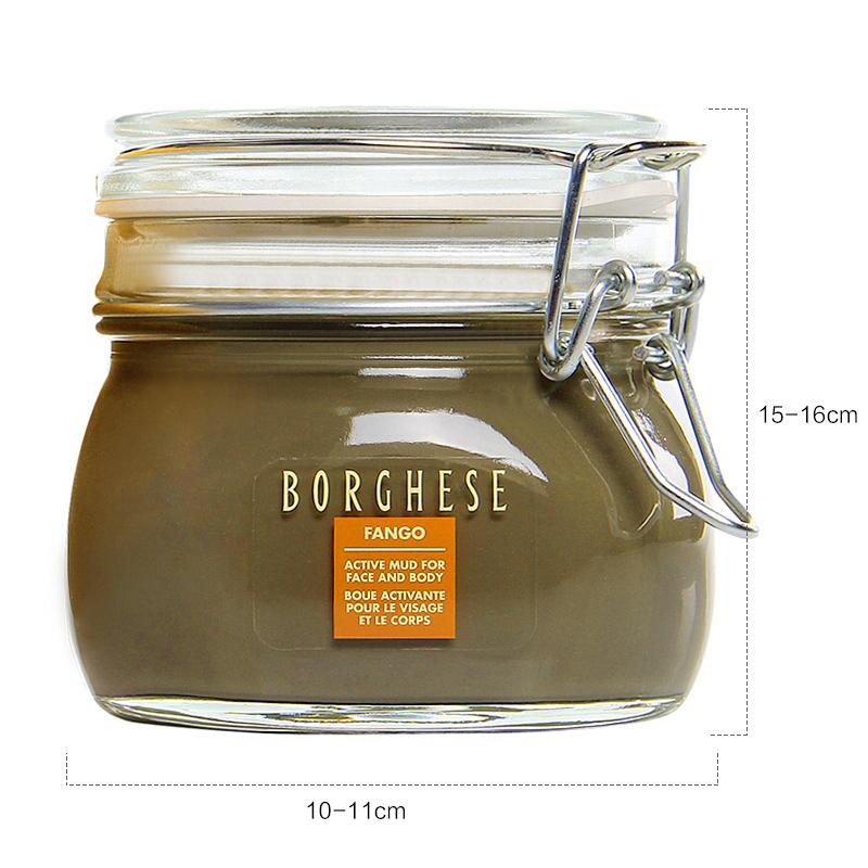 贝佳斯(Borghese)矿物营养泥浆面膜430ml(大绿泥 深层清洁毛孔 补水保湿 男女士)