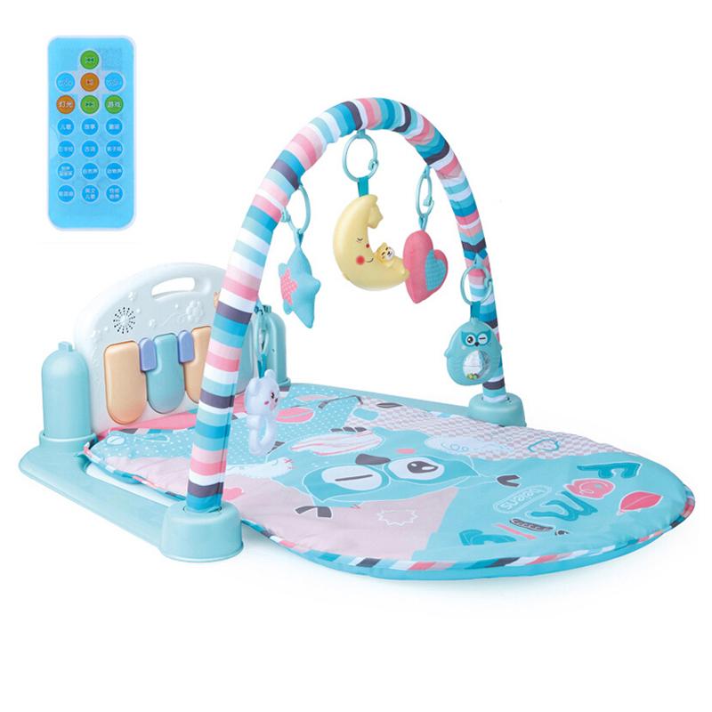 贝恩施(beiens)脚踏钢琴健身架 婴幼儿早教益智欢乐成长音乐玩具B210