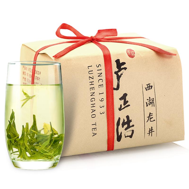 卢正浩 茶叶绿茶 浓香一级西湖龙井茶(301212)200g