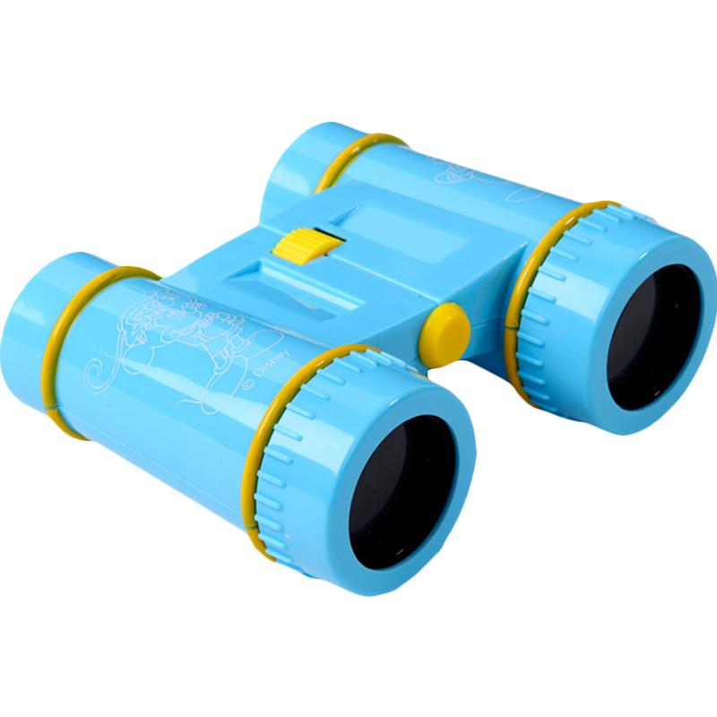 迪士尼Disney 儿童双筒天文望远镜 宝宝科教高倍高清光探索玩具米奇蓝色SWL-925