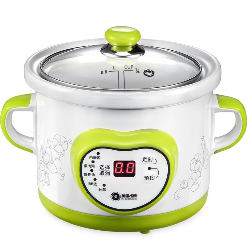 格朗GL 嬰兒BB煲 寶寶電粥鍋陶瓷內膽 尚品YY-10(1.0L)