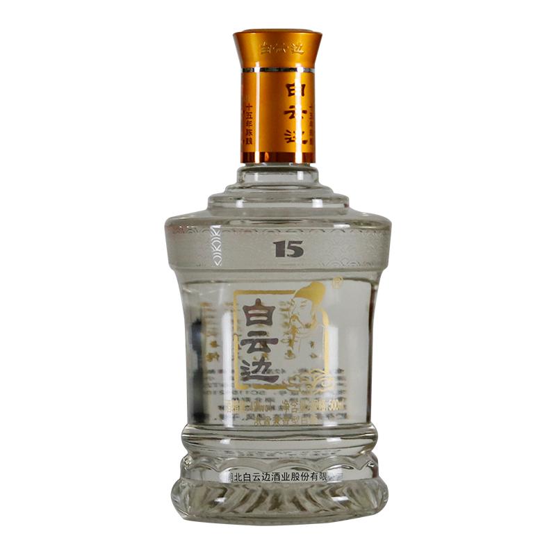 白云边 白酒 十五年陈酿 浓酱兼香型 42度 500ml