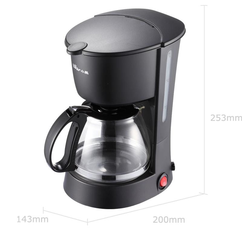 小熊(bear)咖啡機美式家用600ml滴漏式小型迷你煮咖啡壺 KFJ-403