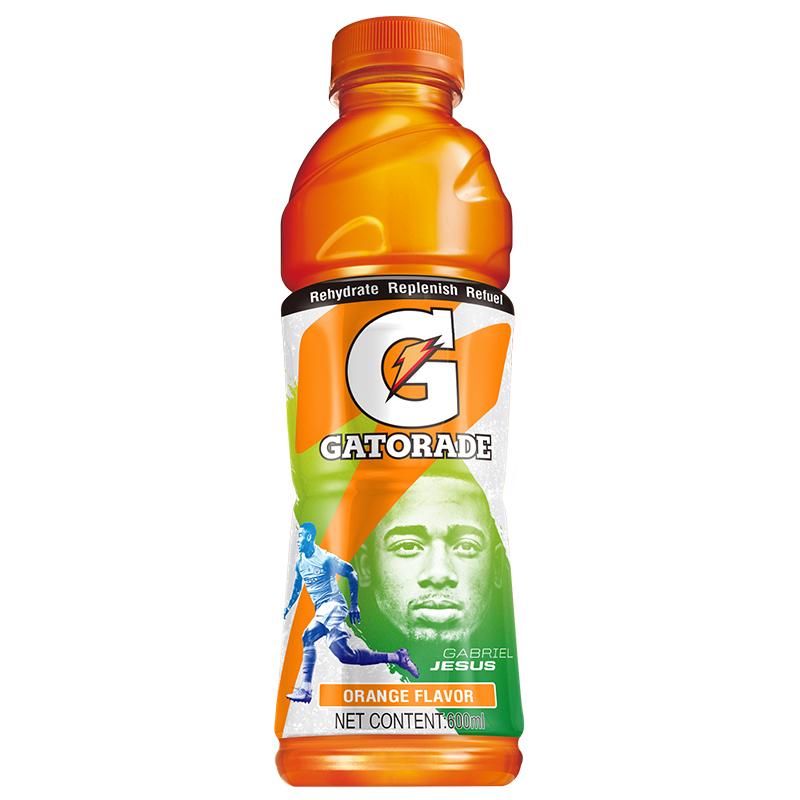 佳得樂 GATORADE 橙味運動飲料600ml*15瓶(新老包裝隨機發貨)