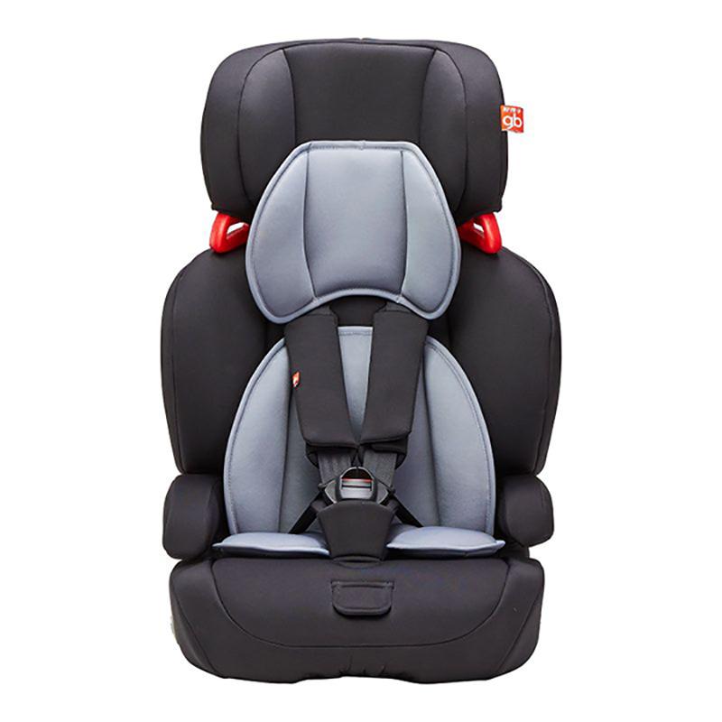 gb好孩子高速汽车儿童安全座椅 欧标五点式安全带 CS618-N020 黑灰色(9个月-12岁)