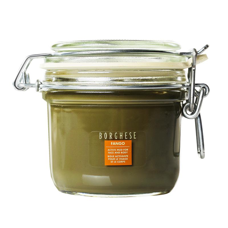 贝佳斯(Borghese)矿物营养绿泥浆面膜212g/200ml( 深层清洁 补水保湿 护肤品 男女士)