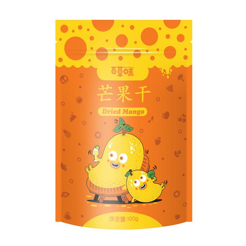 百草味 蜜饯果干 芒果干100g/袋