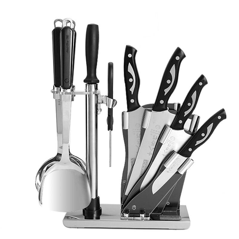 十八子作刀具 菜刀套装翔悦系列十件套S1418