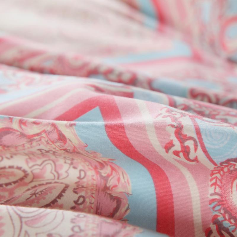 博洋家紡 床品套件 雙人純棉斜紋被套床單全棉四件套1.8米床 西耶娜 220*240cm