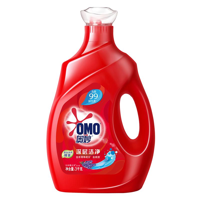 奥妙 深层洁净 洗衣液 3KG+3KG 源自天然酵素(新老包装随机发货)
