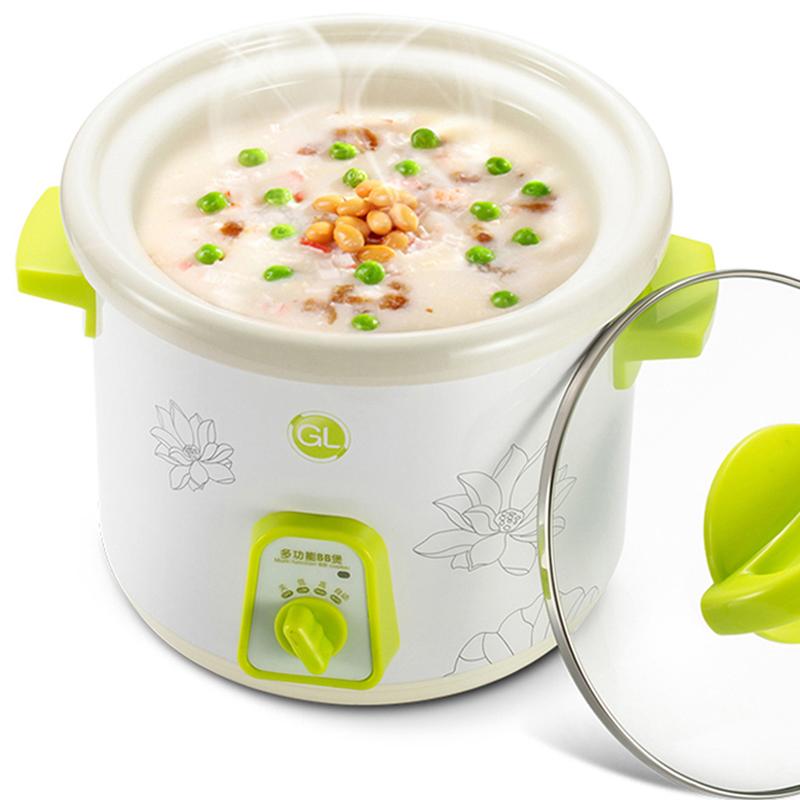 格朗GL bb煲嬰兒煮粥鍋陶瓷內膽電飯鍋/電粥煲/電飯煲尚品YY-2(1.0L)
