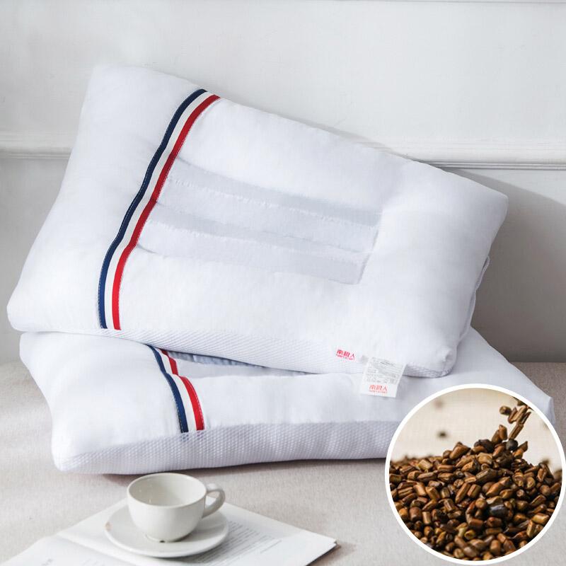 南极人 枕芯家纺 决明子枕头 立体安睡枕芯 单只装
