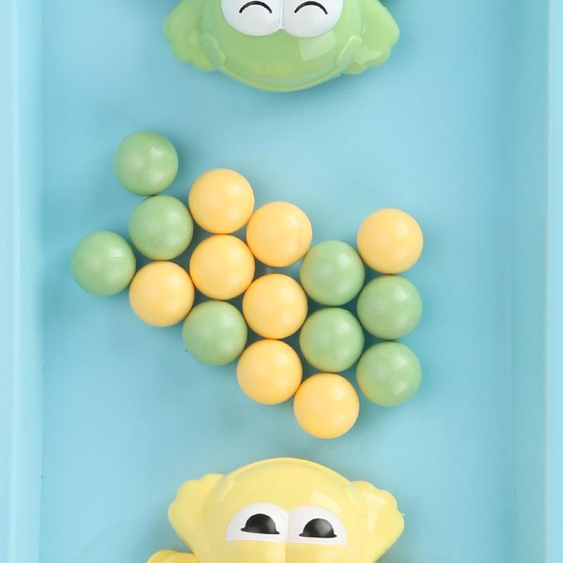 贝恩施(beiens)儿童益智玩具 男孩 女孩玩具戏珠桌面游戏亲子互动青蛙吃豆YZ11