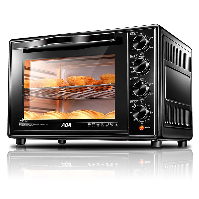 北美电器电烤箱家用 38升 双层密封玻璃门 热风循环 低温发酵ATO-HY386