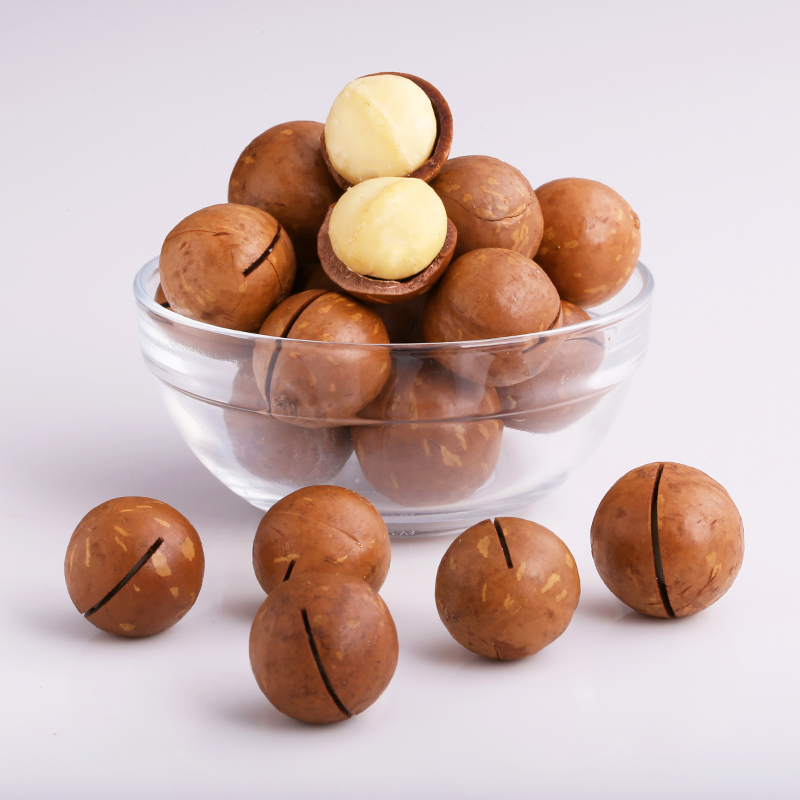三只松鼠坚果炒货干果零食特产奶油味夏威夷果265g/袋 送开口器