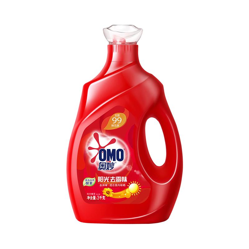 奥妙 阳光去霉味 洗衣液 3KG 源自天然酵素