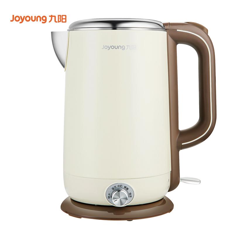 九阳(Joyoung)电水壶 多段保温 热水壶 1.7L双层防烫 无缝内胆 烧水壶K17-W67
