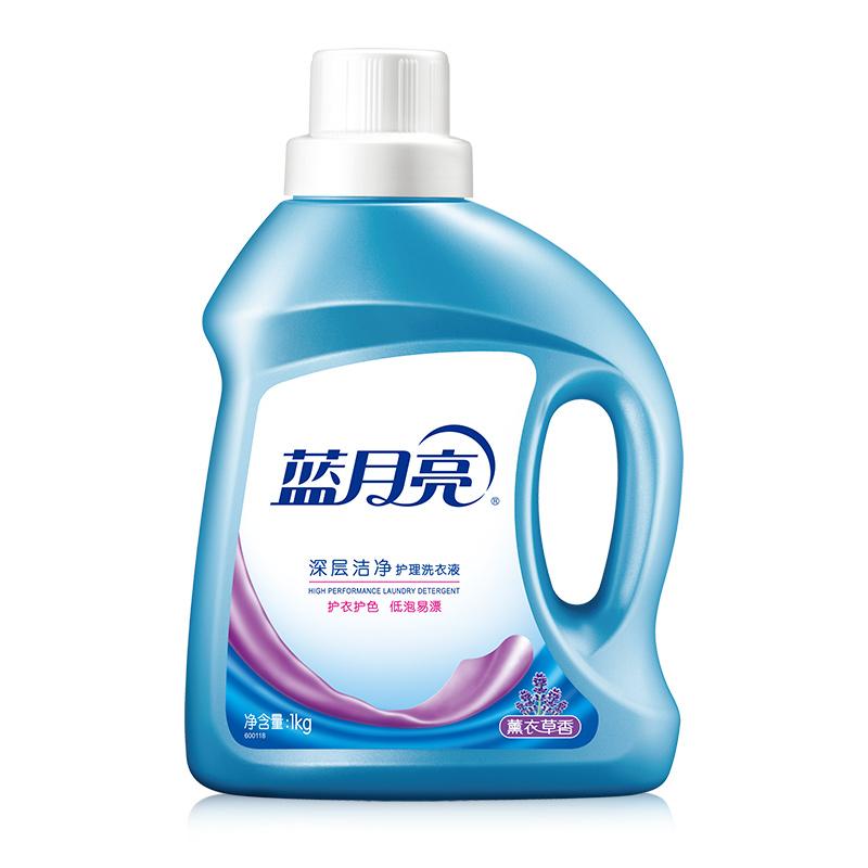 藍月亮  深層潔凈洗衣液(薰衣草)1kg x 6瓶