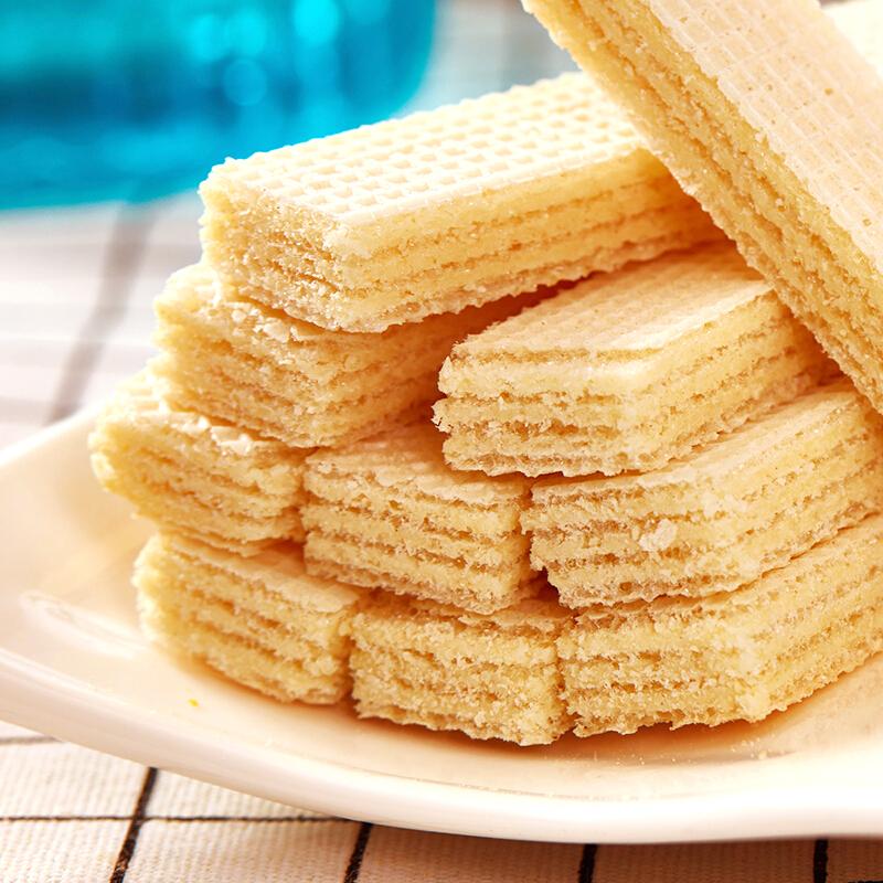 印尼进口 Nabati 丽芝士 丽巧克(Richoco)休闲零食 香草牛奶味 威化饼干 早餐下午茶 办公室点心145g/盒