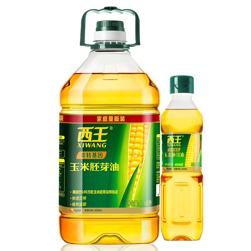西王 食用油 非转基因玉米胚芽油6.18L