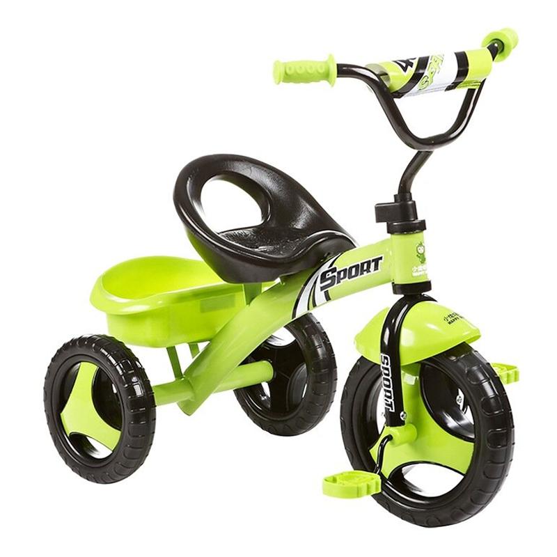 hd小龙哈彼 儿童三轮车小孩宝宝脚踏自行车 糖果绿LSR300-K228