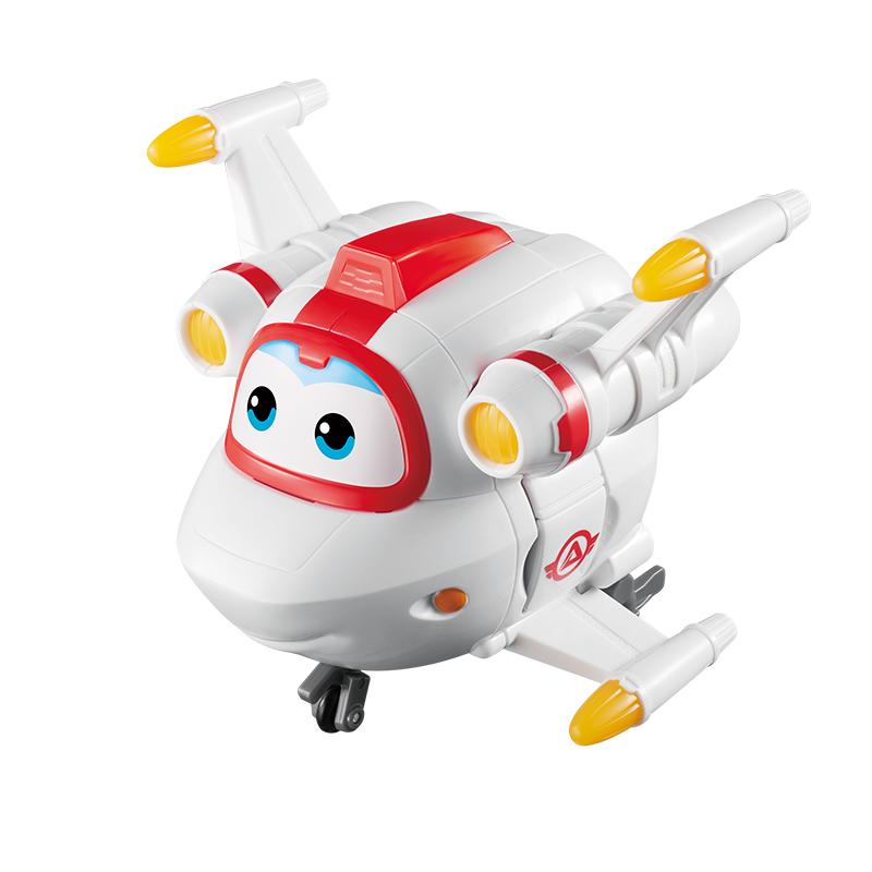 奥迪双钻(AULDEY)超级飞侠益智大变形机器人-米克 730243 儿童玩具 男孩女孩生日礼物