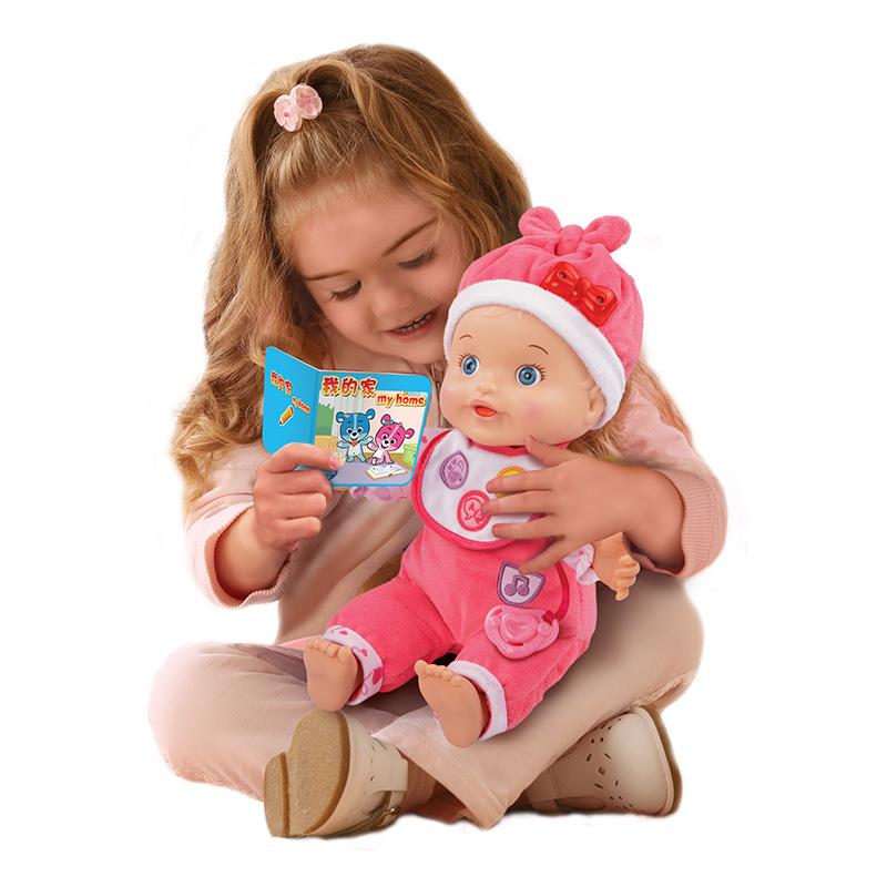 伟易达Vtech 智能对话娃娃玩具 女孩会说话的仿真儿童洋娃娃宝宝音乐早教