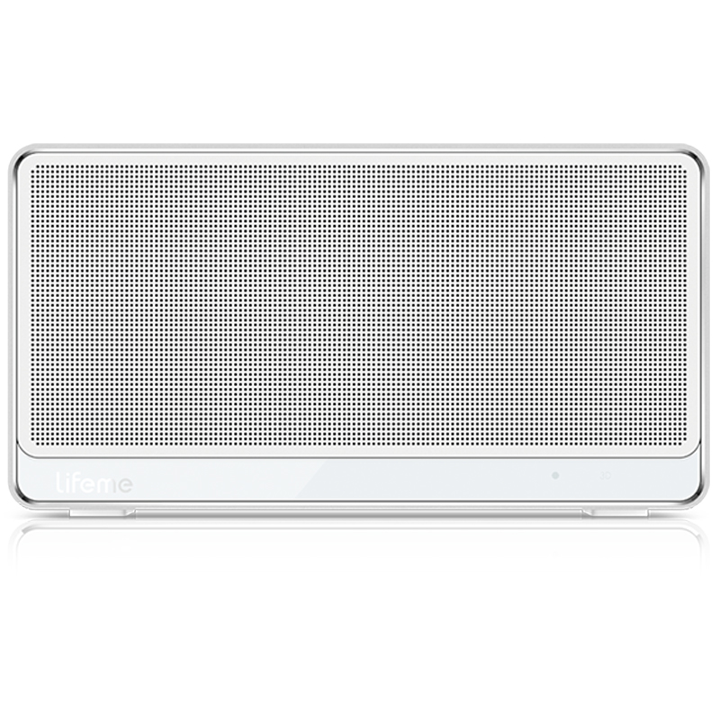 魅族(MEIZU)Lifeme-BTS30 蓝牙4.0音箱无线迷你便携户外商务家用小音响 简约白