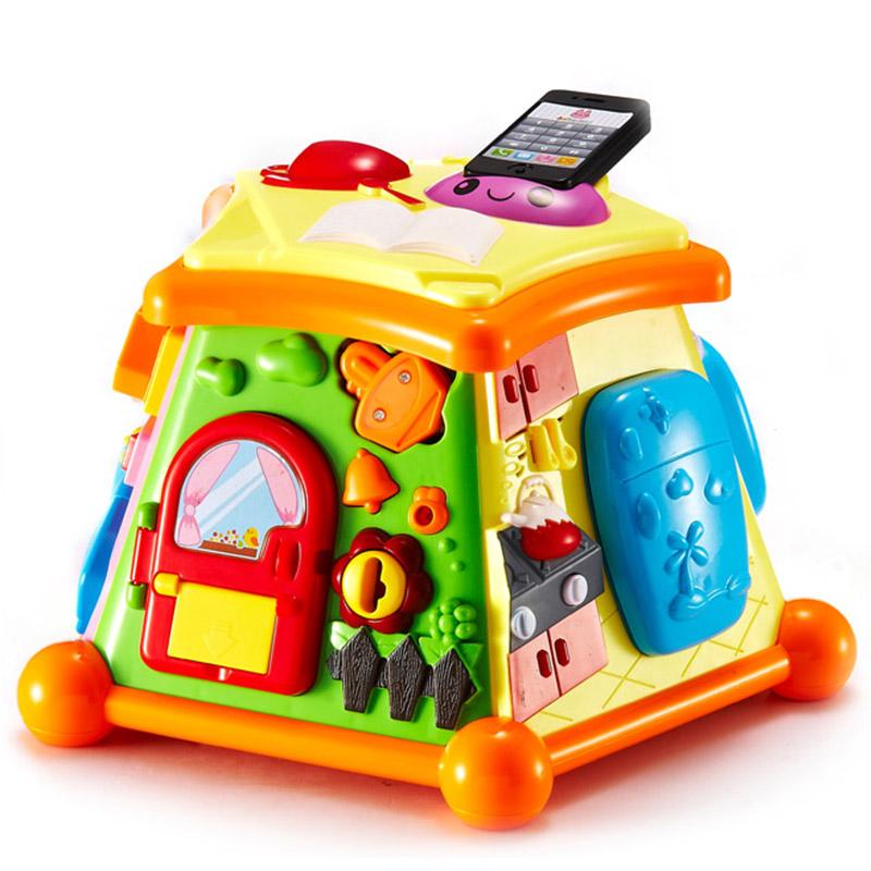 澳貝(AUBY) 益智玩具 生活體驗館 啟智嬰幼兒童聲光音樂早教場景 463419DS