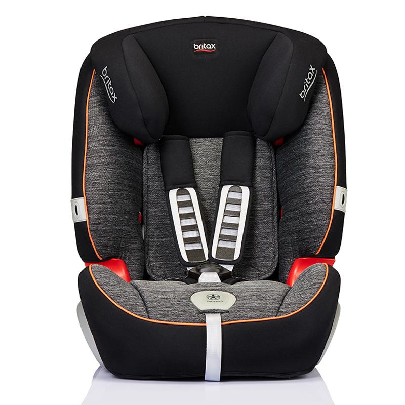 寶得適/百代適britax 寶寶汽車兒童安全座椅 超級百變王白金版 適合9個月-12歲 曜石黑