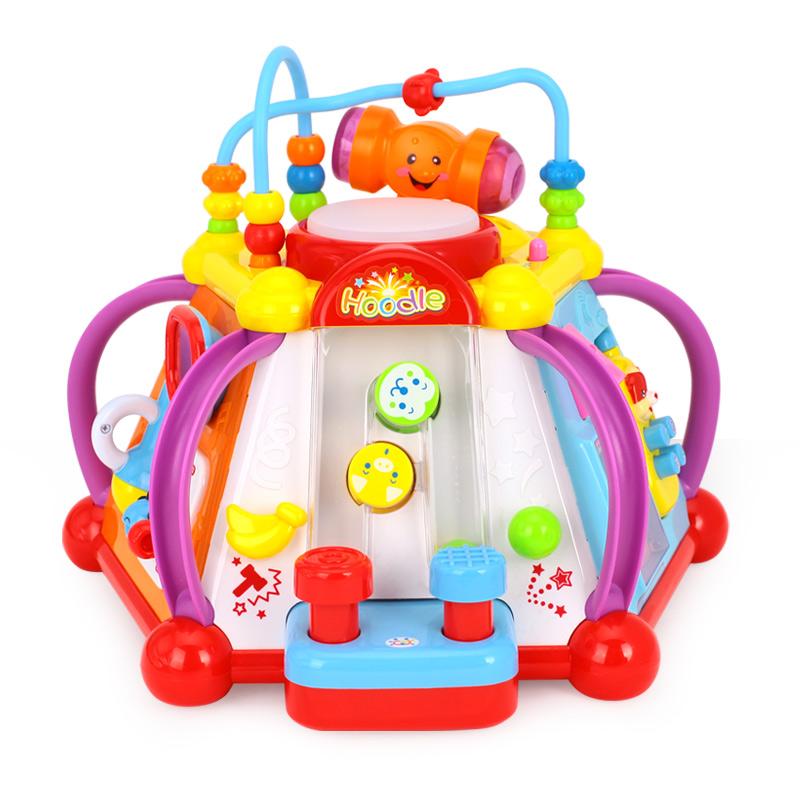 汇乐806快乐小天地 儿童益智 幼儿早教玩具 多功能游戏台